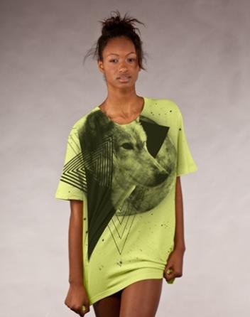 Night cry t-shirt design by Owen P3