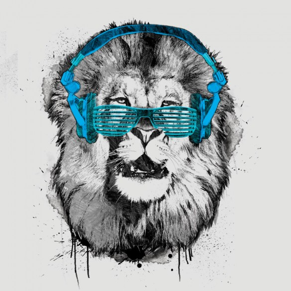 Shady Lion Custom Tee Design