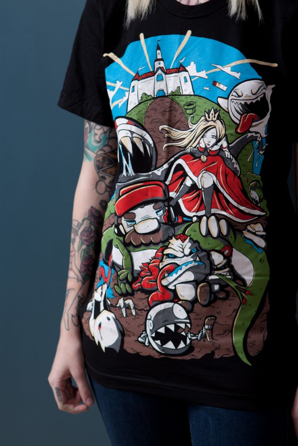 Clothing T Shirt Design | Daily Tee Zombie Kingdom T Shirt Design From Cherry Sauce Clothing