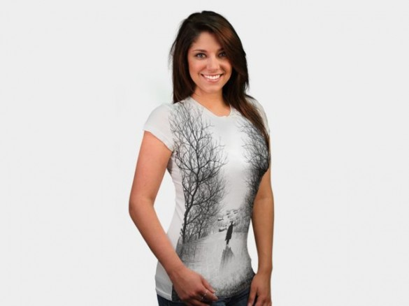 Daily Tee Alone Again t-shirt design by dandingeroz  3