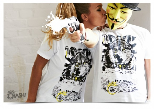 Daily Tee Children limited edition t-shirt design from crash-clothing