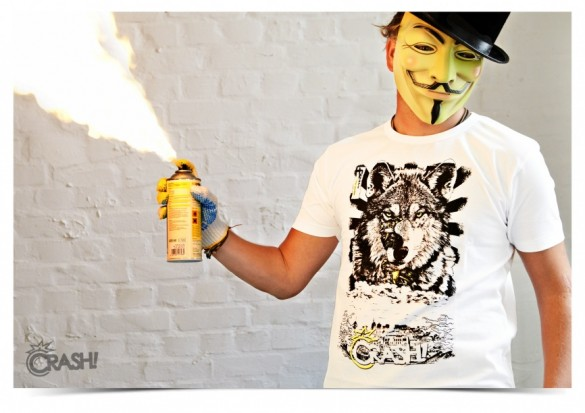 Daily Tee Children limited edition t-shirt design from crash-clothing boy