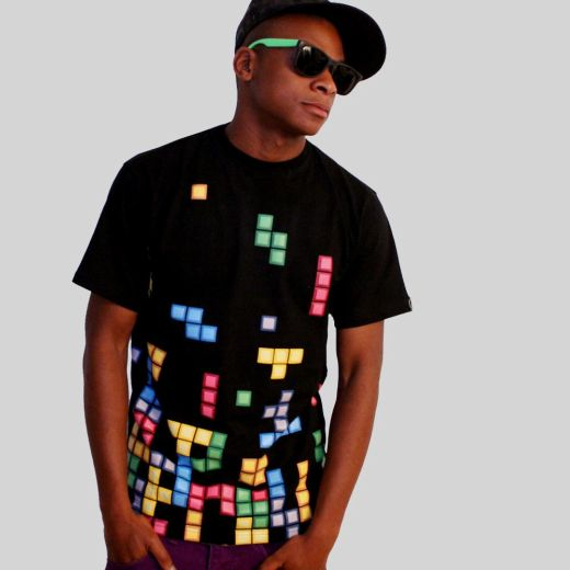 Daily Tee Tetris t-shirt design from technabob.com boy