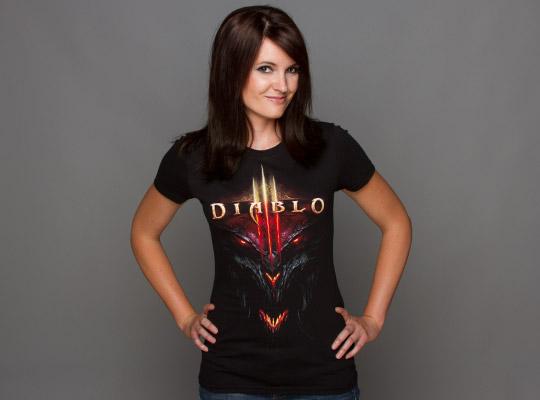 Diablo III t-shirt design from jinx
