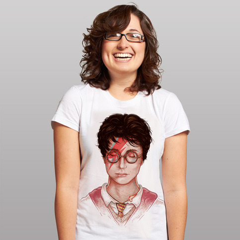 Harry Stardust T-shirt design by Evan Ferstenfeld & Enkel Dika