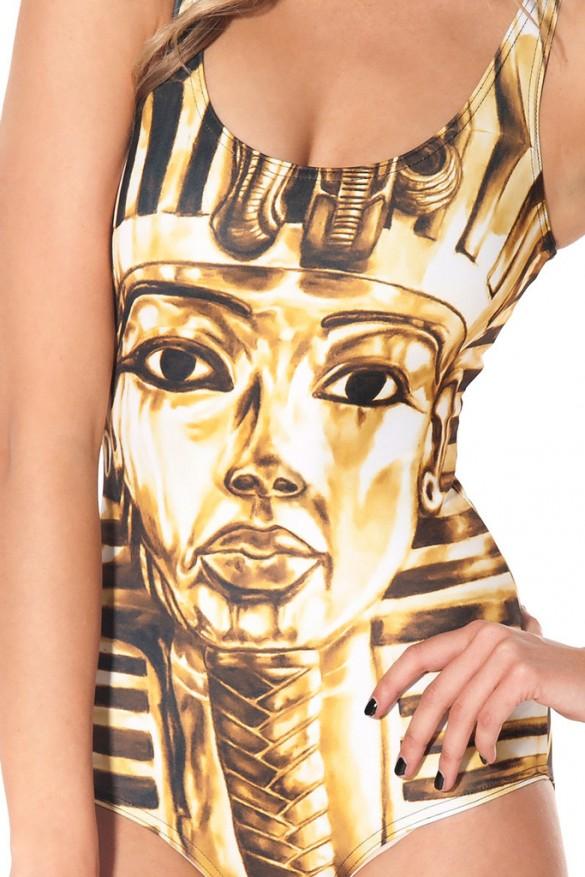 King Tut Swimsuit design by blackmilkclothing.com 1