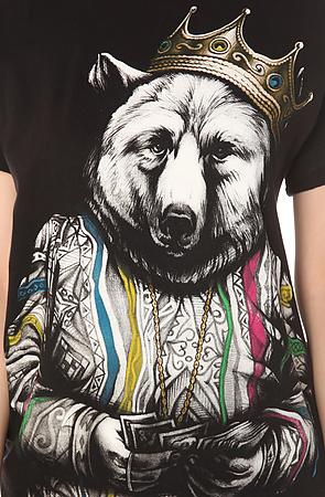 The Biggie Bear t-shirt design from karmaloop design