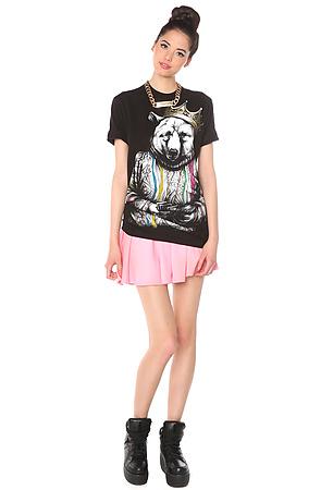 The Biggie Bear t-shirt design from karmaloop girl front