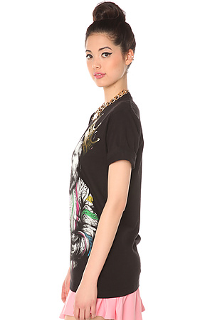 The Biggie Bear t-shirt design from karmaloop side