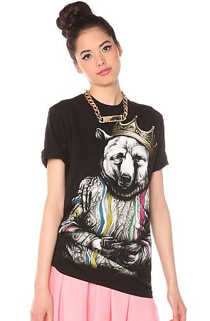 The Biggie Bear t-shirt design from karmaloop
