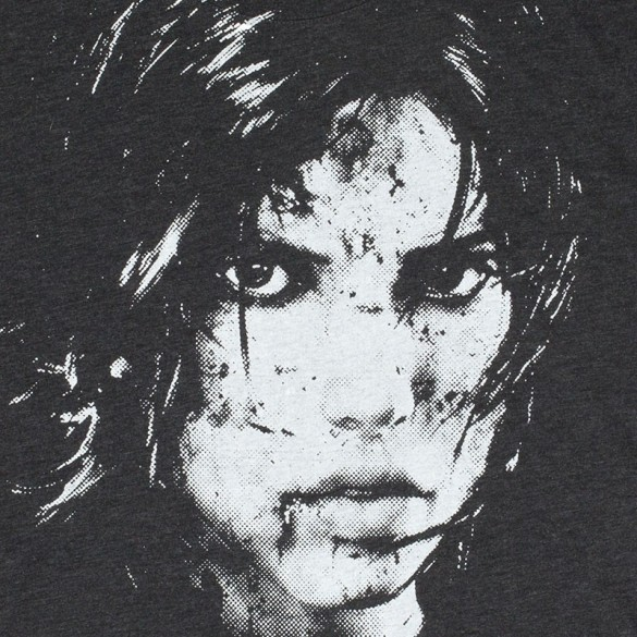 Tomb Raider t-shirt design from tombraiderstore.com design