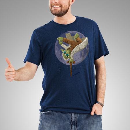 Yoda Force Break Dance t-shirt design by wearviral.bigcartel boy