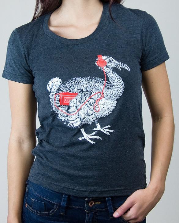 Daily Tee Extinct custom t-shirt design from chokeshirtco girl