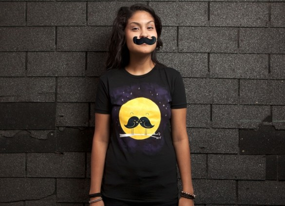 Daily Tee MoonStacheDesign by Lim Heng Swee