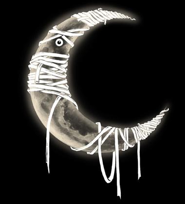 Daily Tee Mummy Moon custom t-shirt by barmalisiRTB