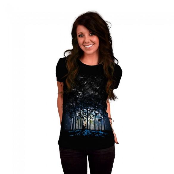 Daily Tee Rising custom t-shirt design by jun087 girl