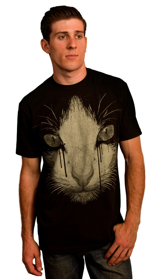Inked Cat t-shirt design boy