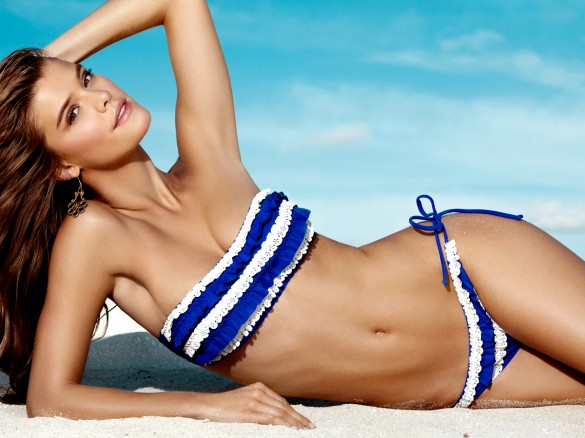 Nina Agdal for Penti Swimwear 2013 Collection 3