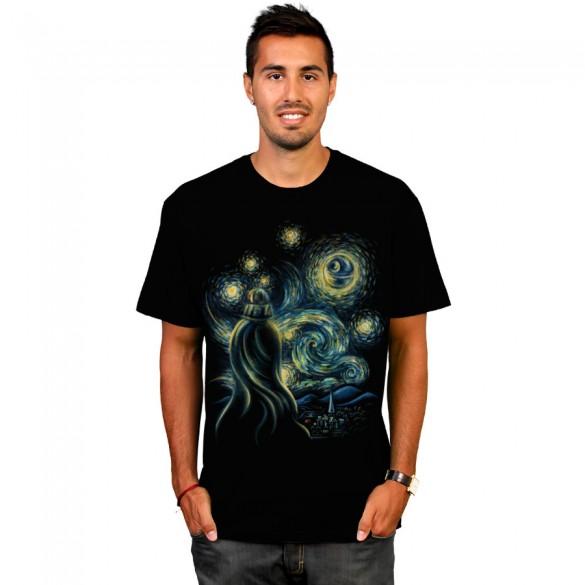 Starry Night custom t-shirt design by buko boy