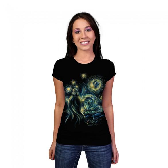 Starry Night custom t-shirt design by buko girl