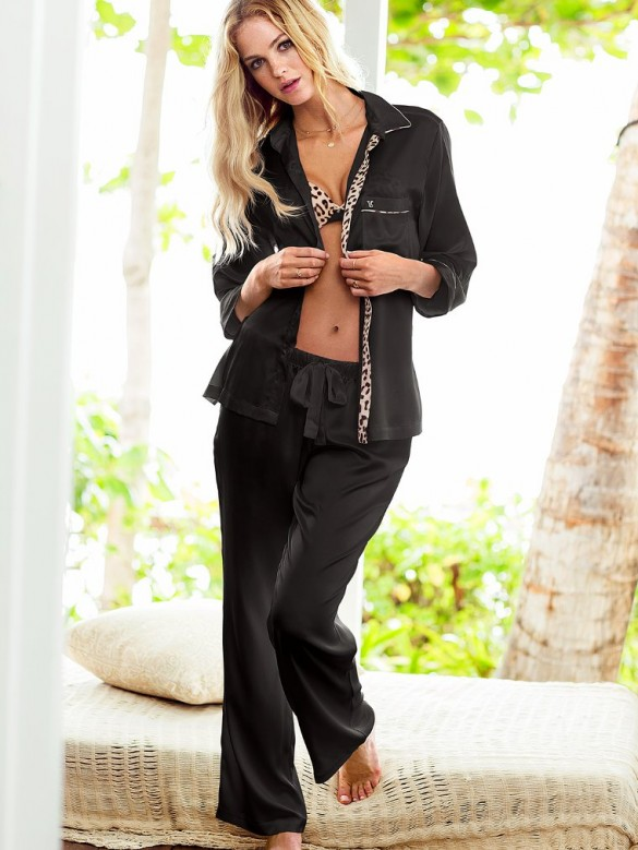 The Afterhour Satin Pajama