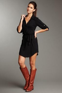 shirt-dress-and-boots
