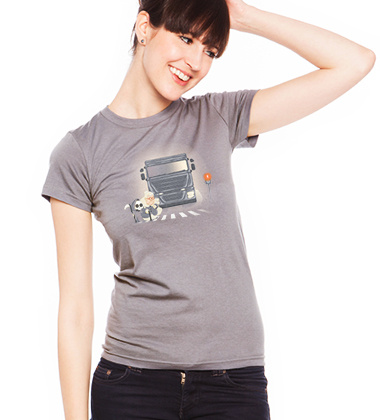 Bonne Action custom t-shirt design by vinsse girl