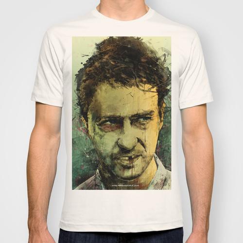 Daily Tee Edward Norton custom t-shirt design by Fresh Doodle - JP Valderrama
