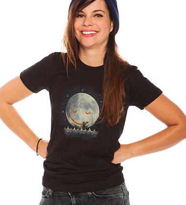 Daily Tee If I Had A Boat custom t-shirt design by MrWayne design girl
