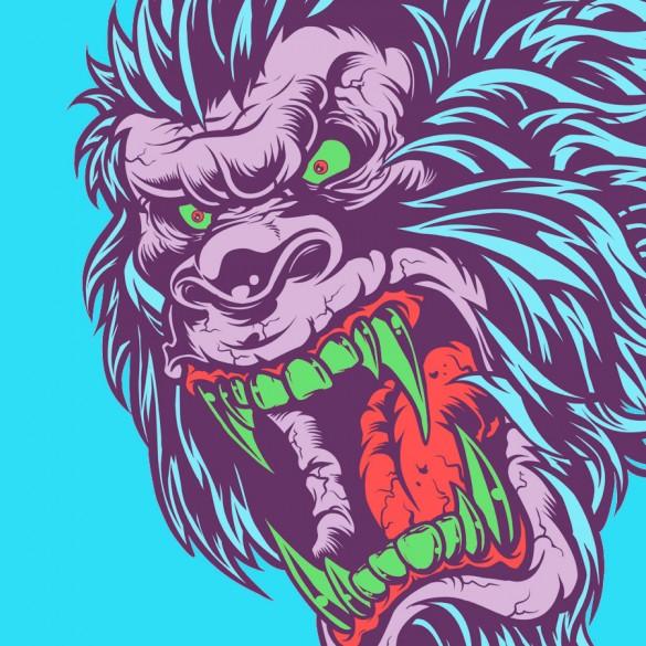 Daily Tee Sasquatch Frenzy custom t-shirt design by Mr Nicolo