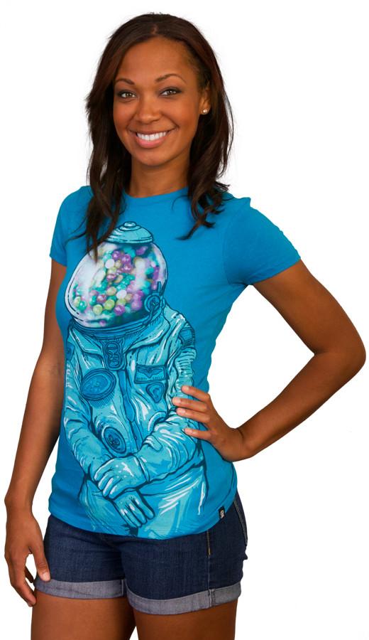 Gumballs custom t-shirt design by tolagunestro girl side