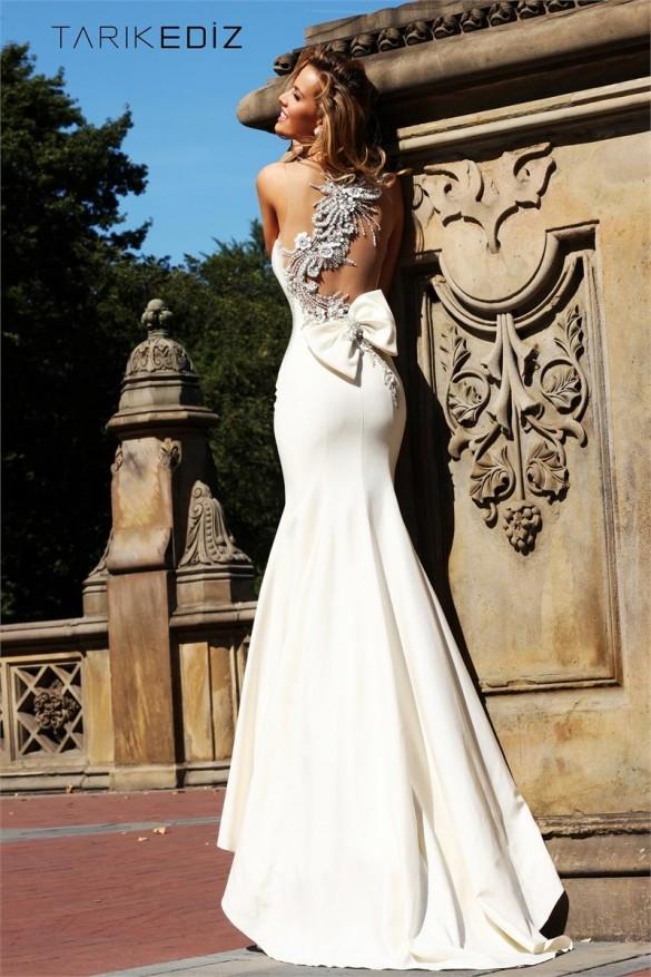 Tarik Ediz Evening Dress from netfashionavenue