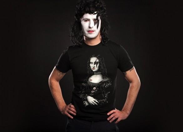 Daily Tee Renaissance Rocks custom t-shirt design by Enkel Dika male