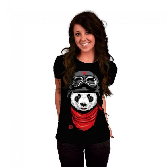 Daily Tee The Happy Adventurer custom t-shirt design by jun087 girl