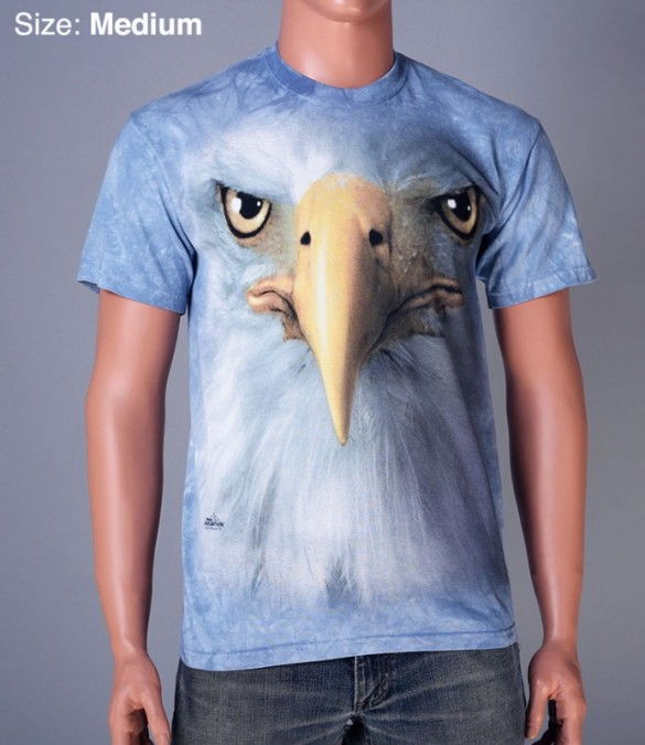Eagle Face custom t-shirt design from