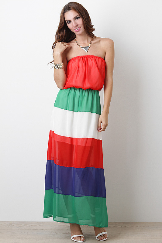 Gelato Tart Maxi Dress