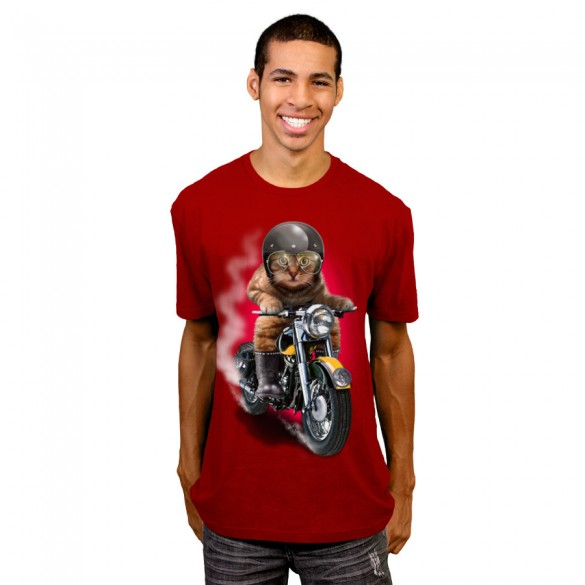Hell Rider custom t-shirt design by adamlawless man