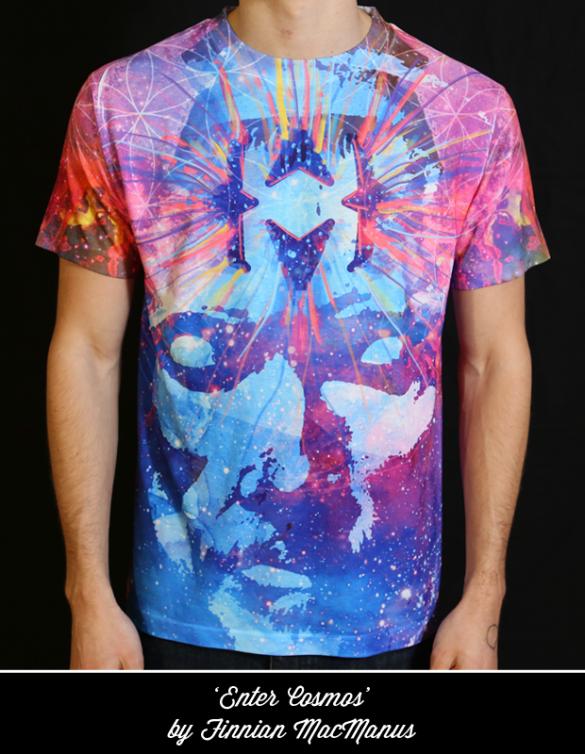 This isn't clothing - it's an EXPERIENCE, t-shirt design by Jordan Lejuwaan 2