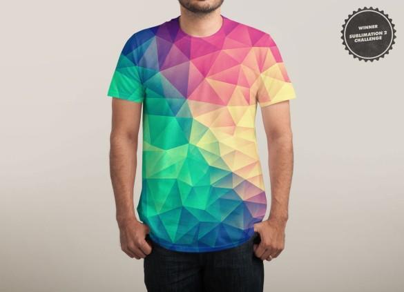COLOR BOMB! T-shirt Design by Philipp Rietz man