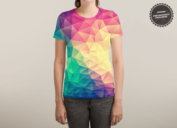 COLOR BOMB! T-shirt Design by Philipp Rietz woman