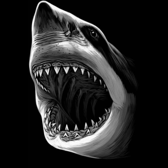 Great white shark fancy for Design attack