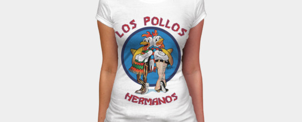 Los Pollos Hermanos T-shirt Design by erzoArt woman main image