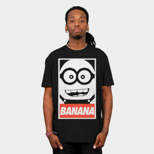 Obey Banana T-shirt Design man