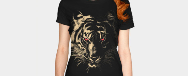 Story of the Tiger T-shirt Design  woman main image