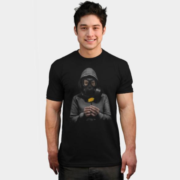 Toxic Hope T-shirt Design by NGDesign man tee