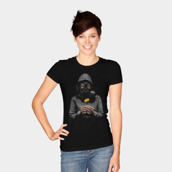 Toxic Hope T-shirt Design by NGDesign woman tee