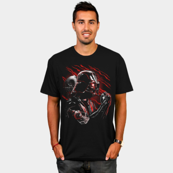Wrath of Darth Vader T-shirt Design by by StarWars man tee