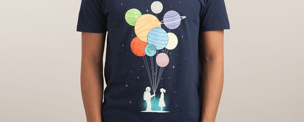 YOU ARE MY UNIVERSE T-shirt Design by Lim Heng Swee man tee main image