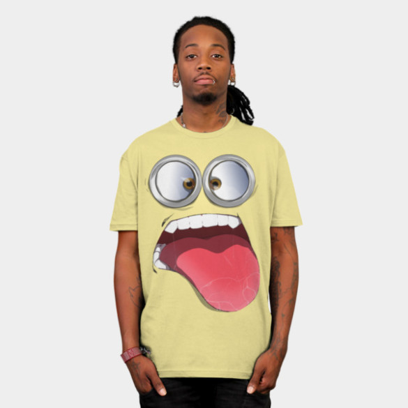 my minion t-shirt man