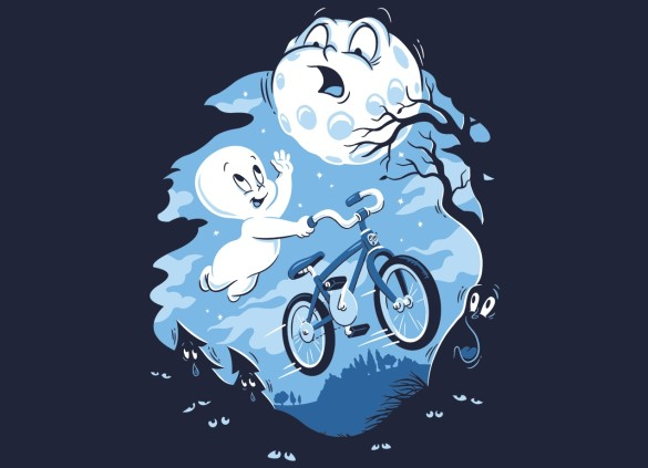 GHOST RIDER T-shirt Design by Christopher Phillips casper t-shirt